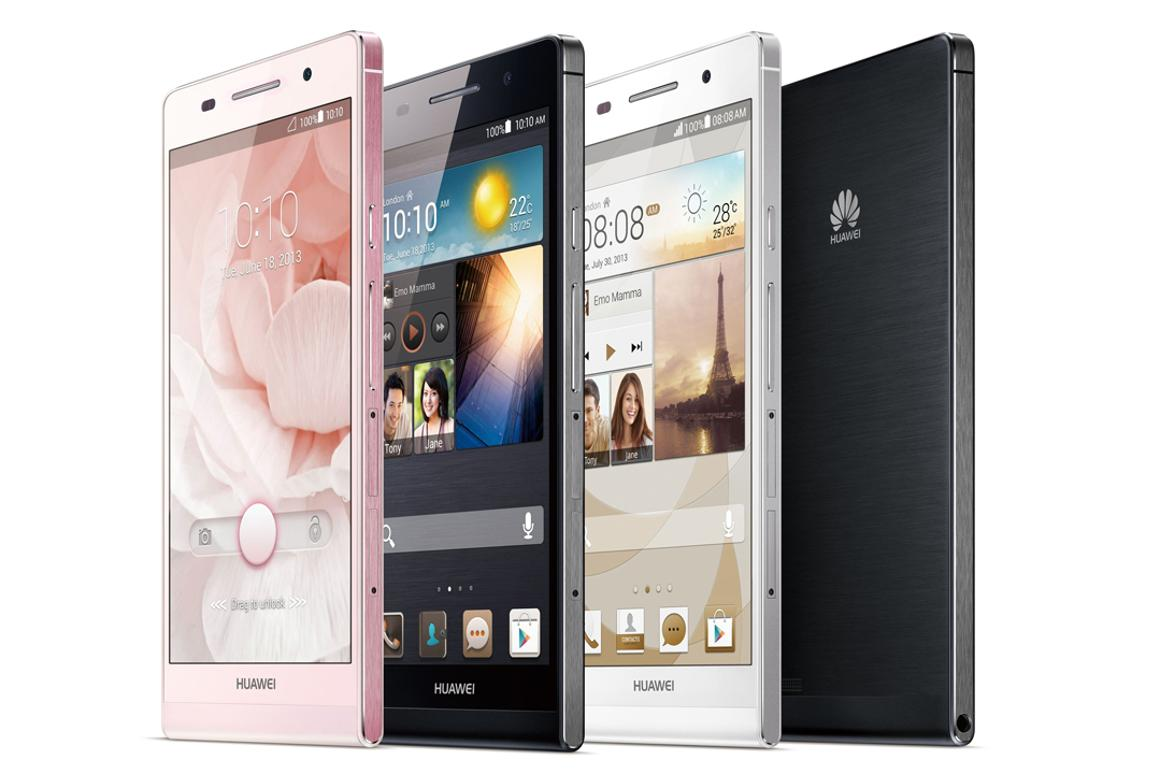 The Huawei Ascend P6 is touted as the world's slimmest smartphone