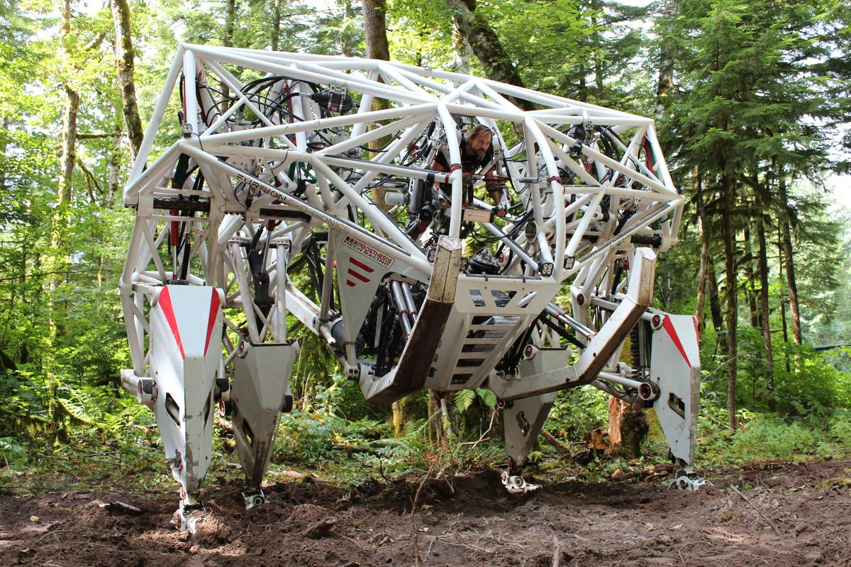 Aspiring mech pilots can now sign up to drive the giant Prosthesis exo-mech