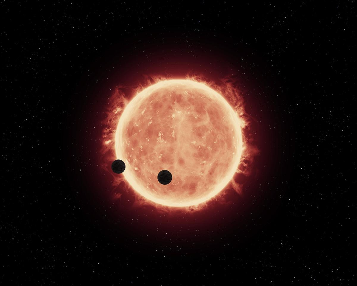 "Computer simulations suggest that many Earth-sized exoplanets orbiting red dwarf stars may be ""water worlds"""