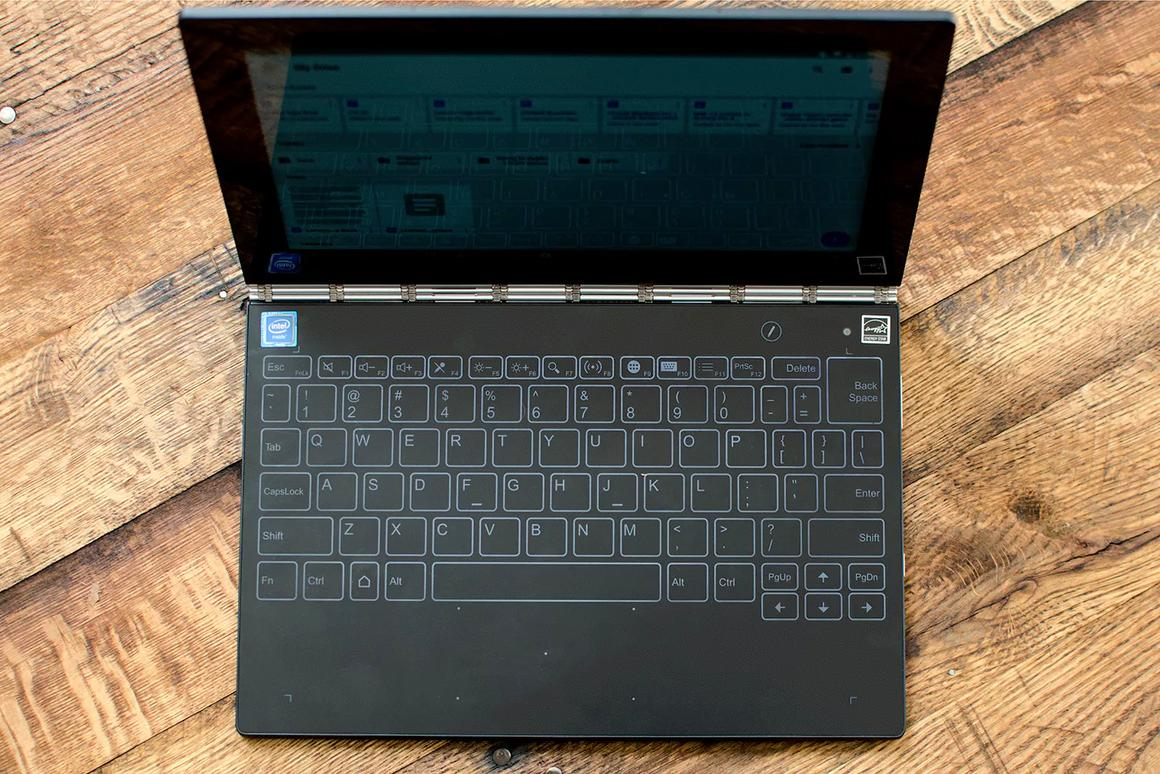 Lenovo Yoga Book review: Less than the sum of its parts
