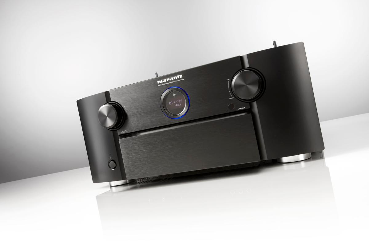 The all-new Marantz SR7009 is the company's first Atmos-capable receiver