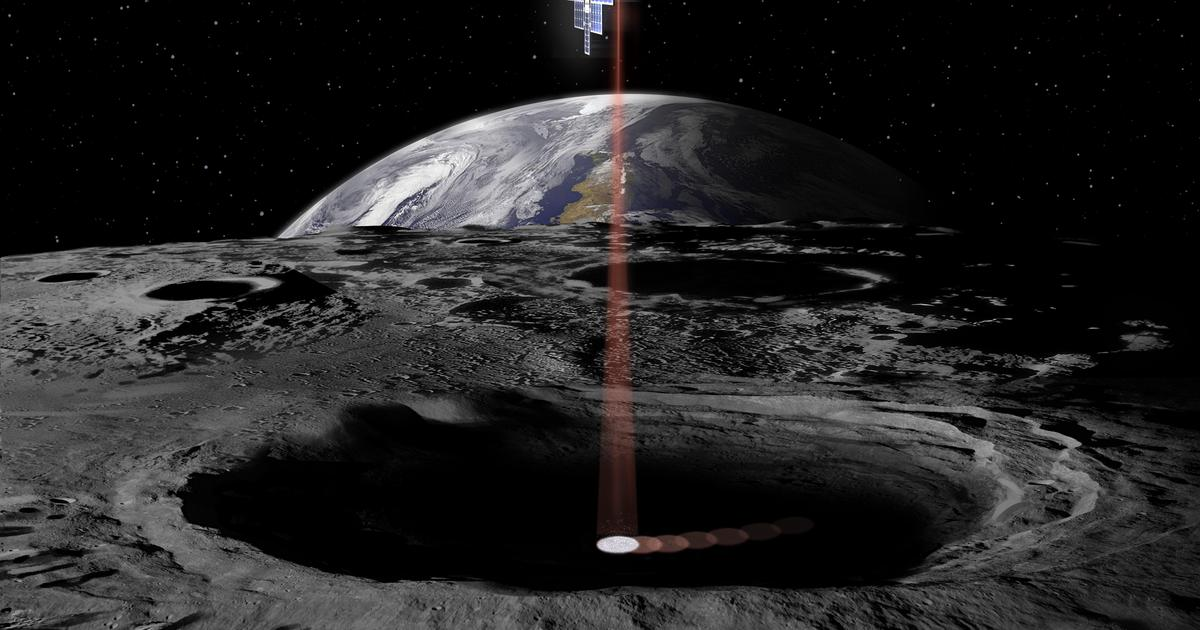 NASA's Lunar Flashlight to hunt for water in ancient Moon craters