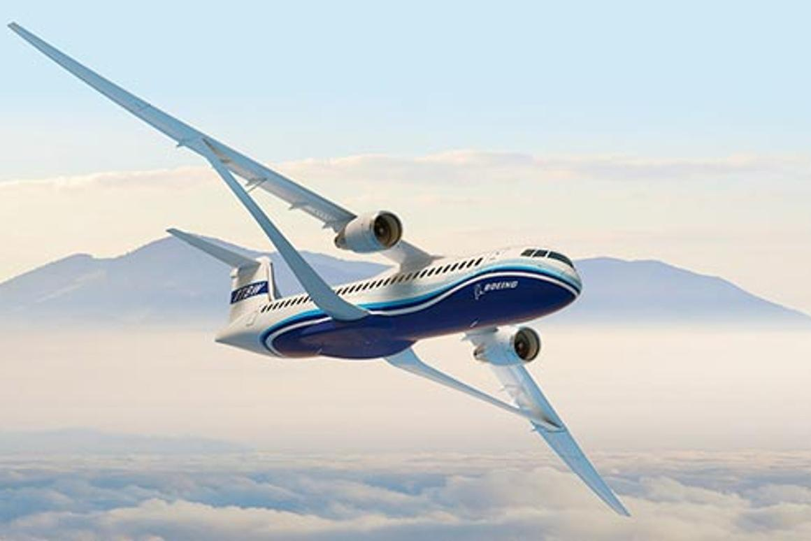 Boeing is studying the Transonic Truss-Braced Wing concept through a collaboration with NASA as part of the Subsonic Ultra Green Aircraft Research program