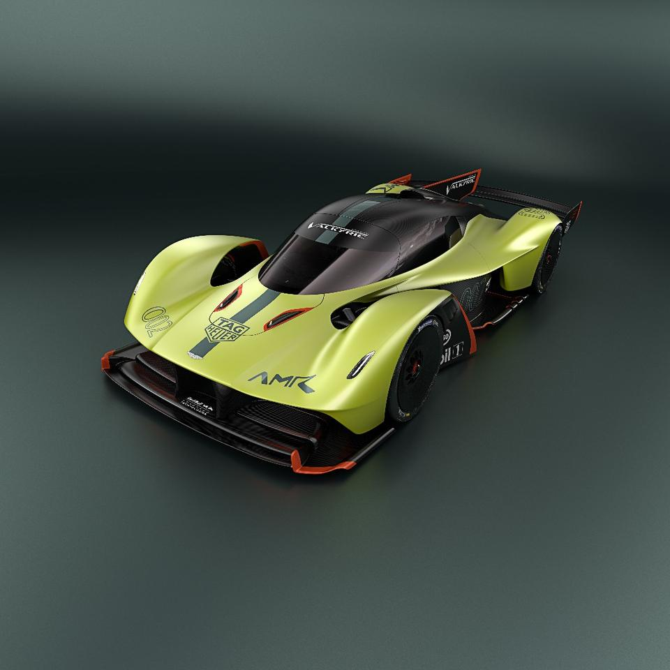 Technical details on the Valkyrie AMR Pro are a bit sparse, but Aston Martin promises there will be more to come as the bespoke car heads towards market