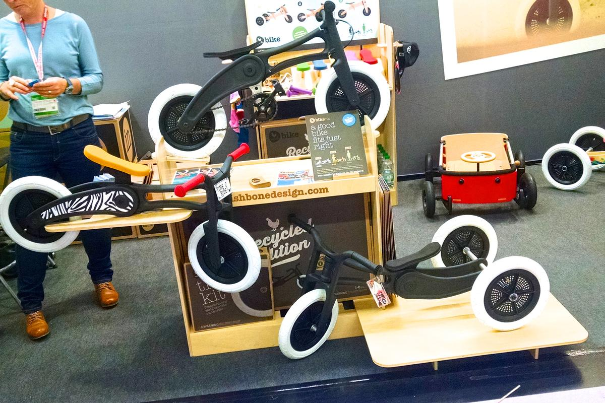 From trike, to balance bike to pedal bike (C.C. Weiss/Gizmag.com)