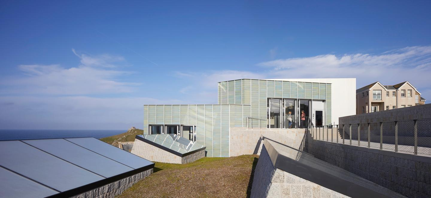 New Tate St Ives, by Jamie Fobert Architects with Evans & Shalev, has been shortlisted for the 2019 RIBA Stirling Prize