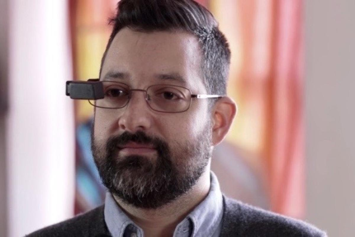 The LTCCS augmented reality display could be clipped onto users' existing glasses, prescription or otherwise