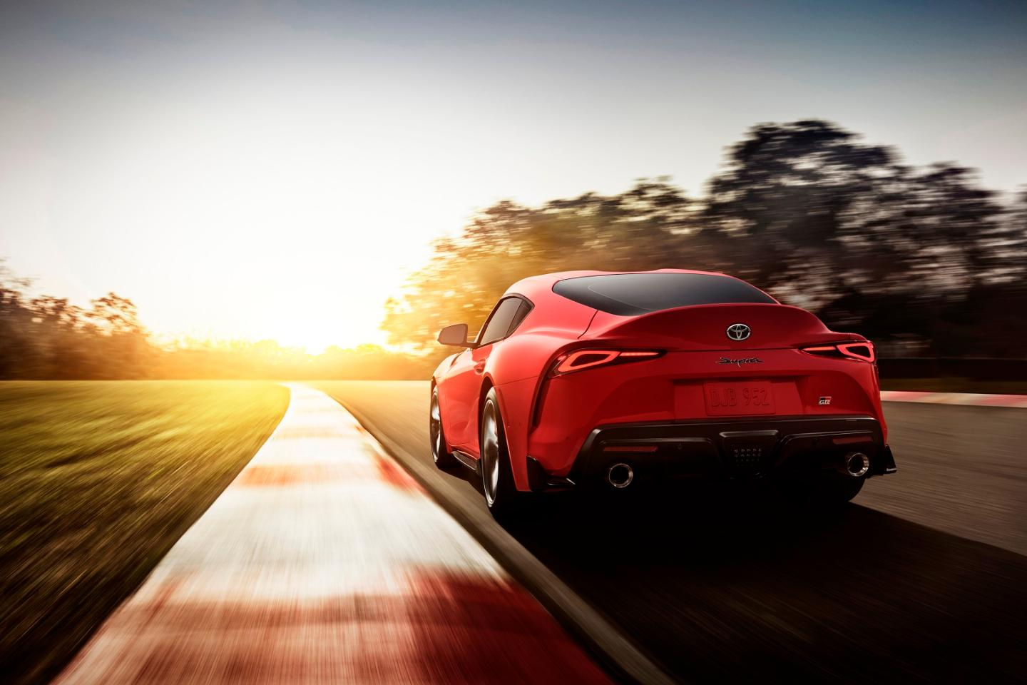 The 2020 Toyota Supra is the first Supra to be produced since 1998