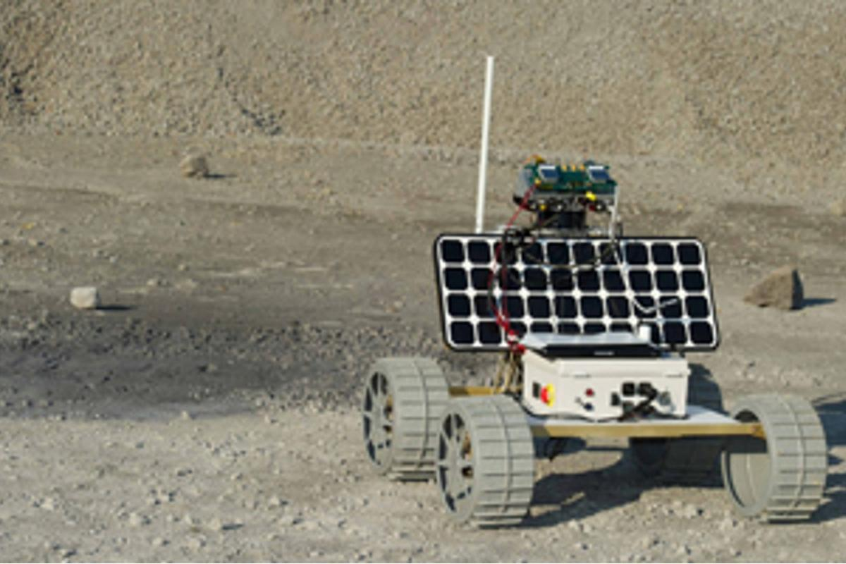 The Andy Rover is designed to explore rough lunar terrain ( Photo: CMU)