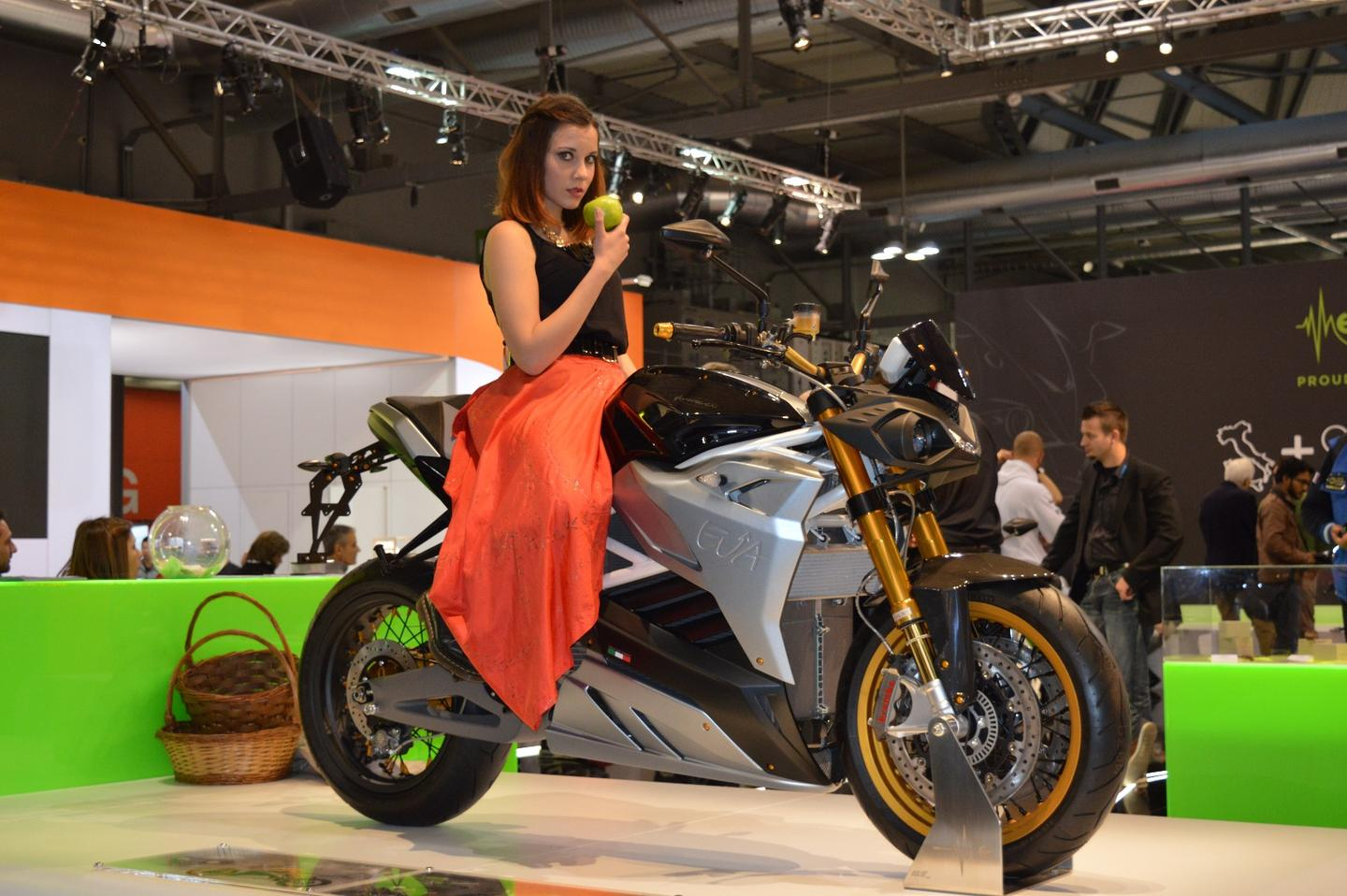 The Energica Motor Company is Italy's first manufacturer of electric performance bikes and Eva is its second model