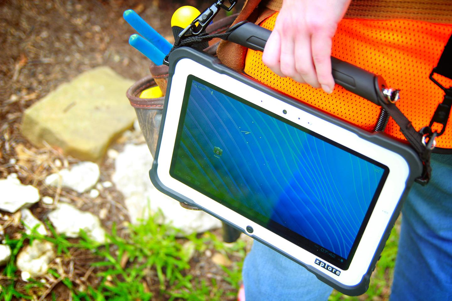 Xplore Technologies has introduced its first rugged Android tablet, the RangerX