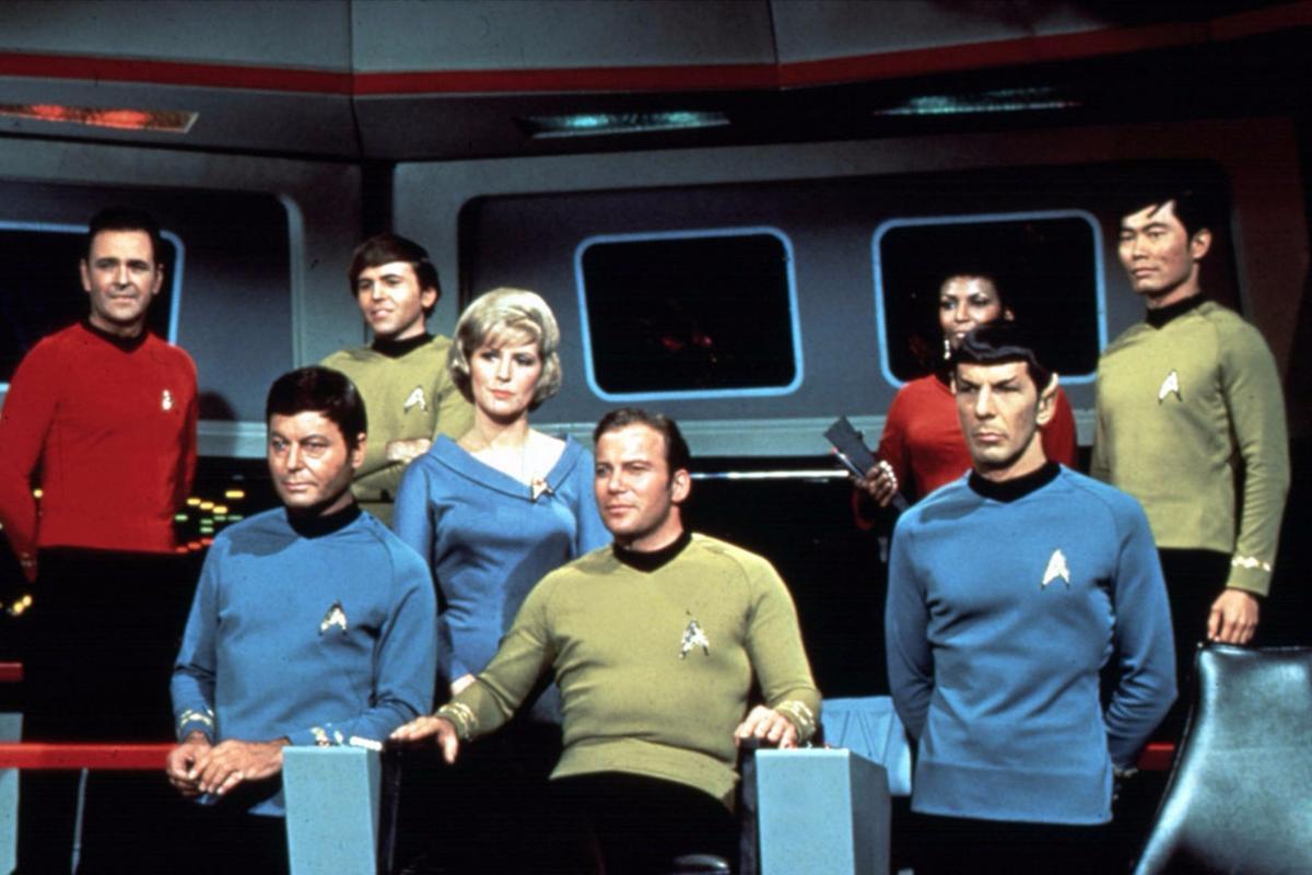 Star Trek followed the adventures of Captain Kirk and the crew of the Starship Enterprise