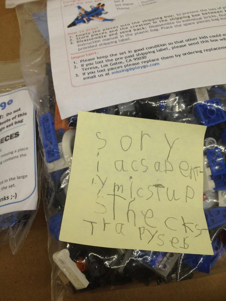 Each Lego set arrives in a custom box with all the required pieces, full building instructions, and a Spare Pieces Bag that contains replacements for the 25 most commonly lost bricks