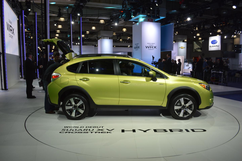 Subaru's first production hybrid debuts at the 2013 NY International Auto Show