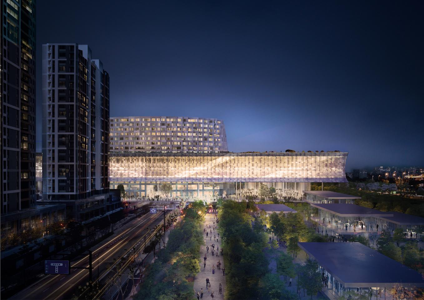 The Grand Canal Museum Complex's design is inspired by China's Grand Canal