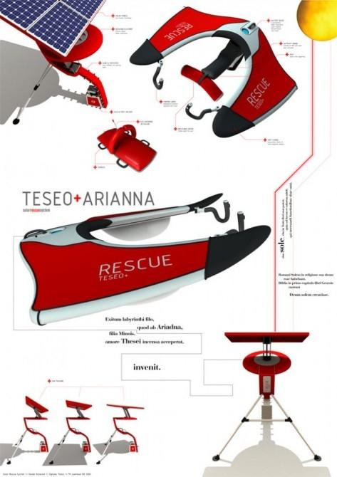 Teseo+Ariana design rendering