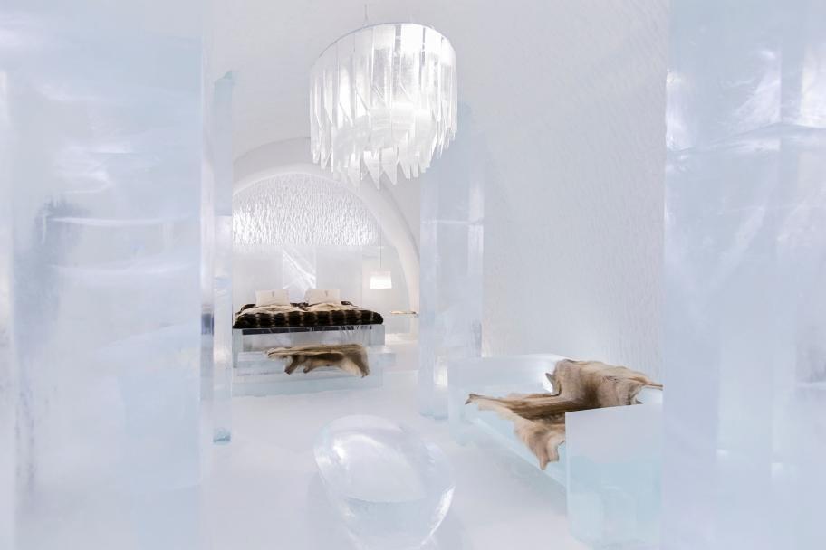 The 25th Icehotel in Jukkasjärvi, Sweden, has been created (Photo: Paulina Holmgren)