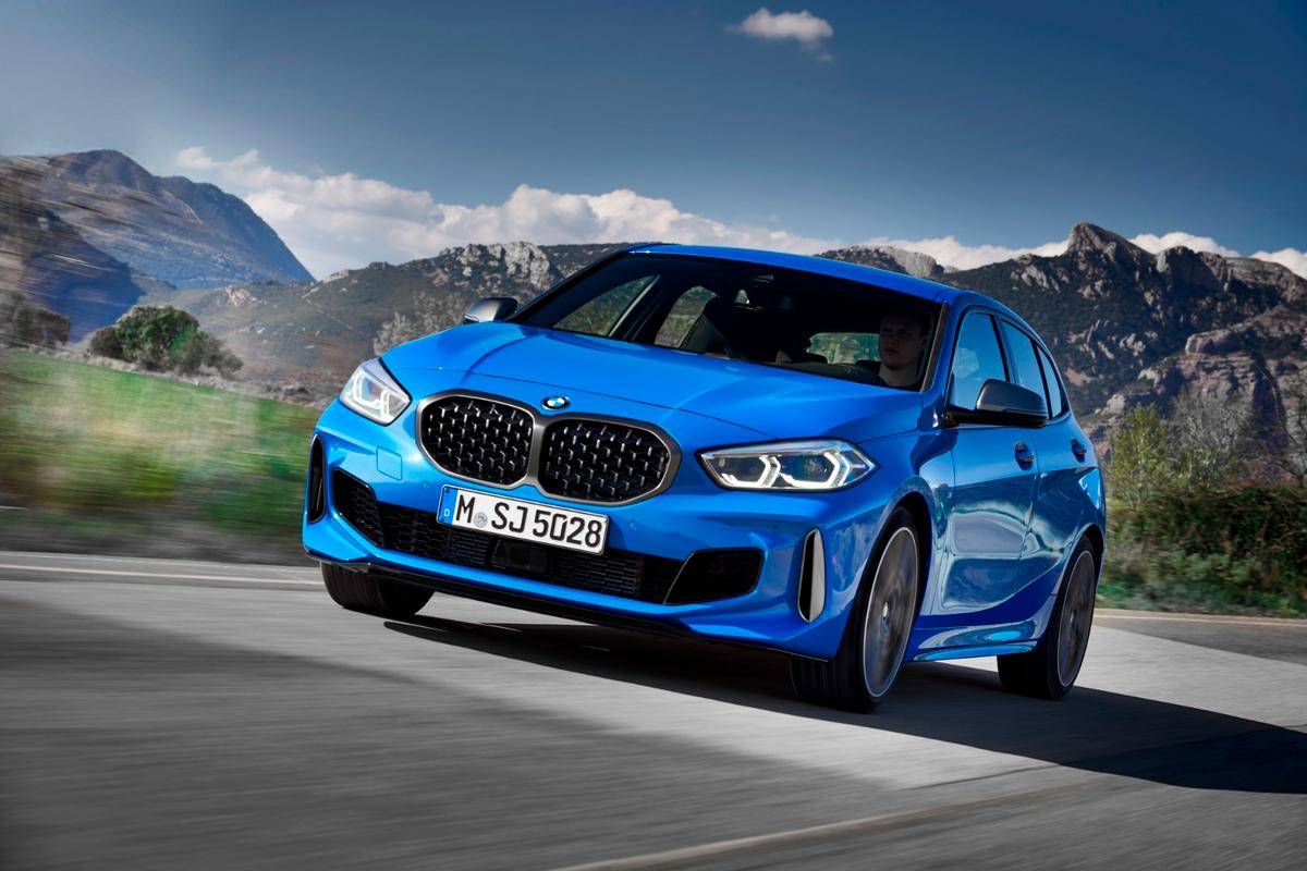 BMW says the new 1 Series offers superior agility, handling and space