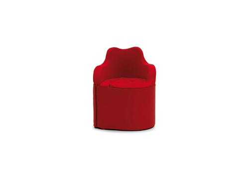 When folded up, Girella forms a small armchair