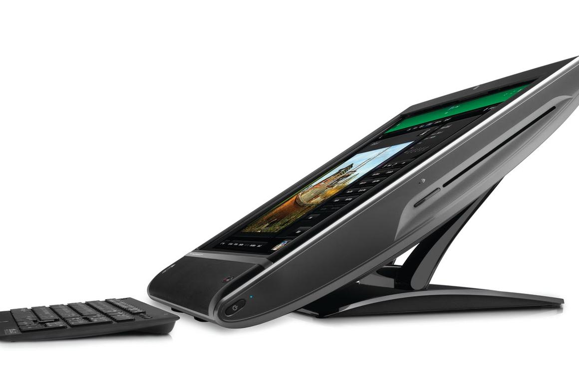 The HP TouchSmart 610-1030a
