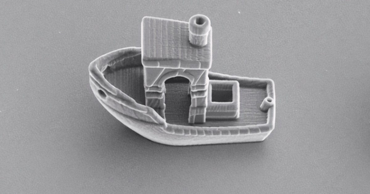 World's smallest boat is thinner than a human hair