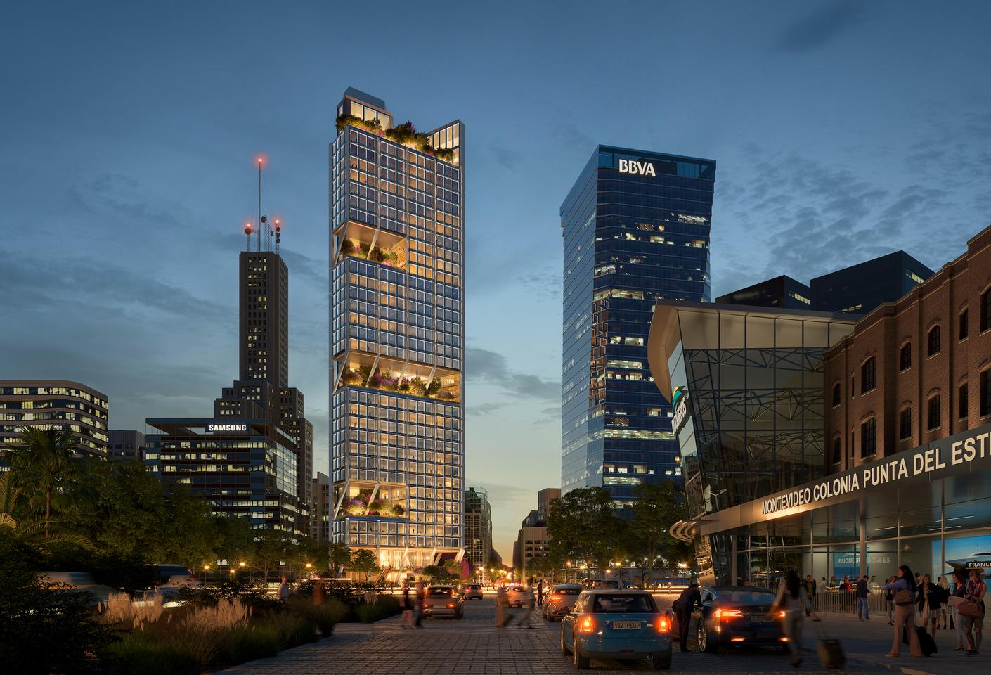 Avenida Cordoba 120 will rise to a height of 35 stories in Buenos Aires, Argentina