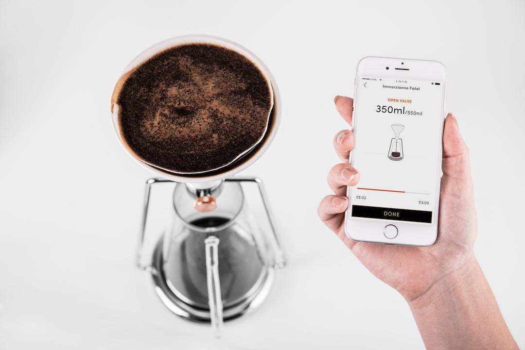 The Gina app gives guidance on brewing techniques, provides recipes, calculates ingredient measurements, alerts when a brew is done and lets users share tips with each other
