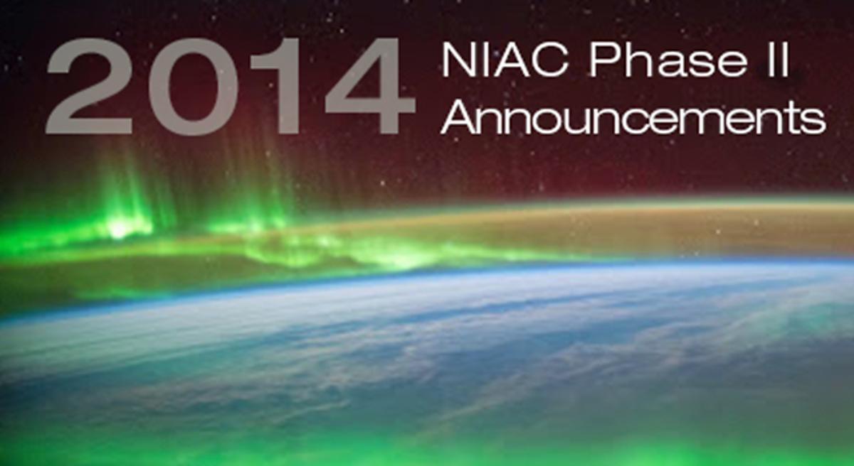 NASA has selected five finalists to move on in its NIAC Program