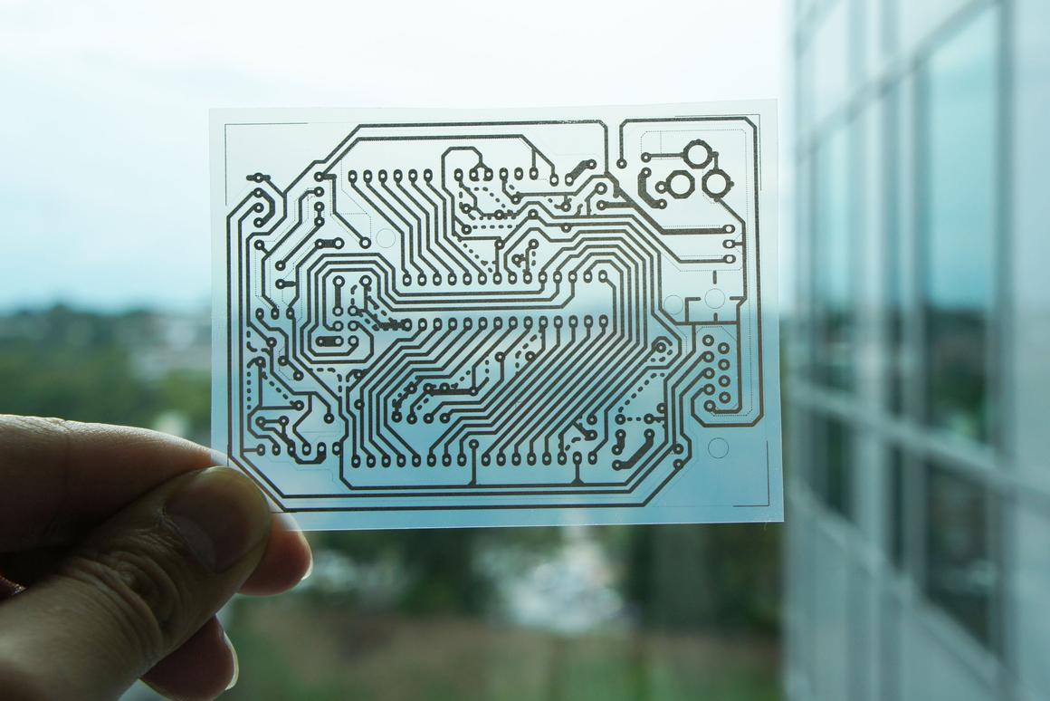 Georgia Tech's printed circuit technique could make it cheaper and faster for professionals and DIYers to create prototype electronics