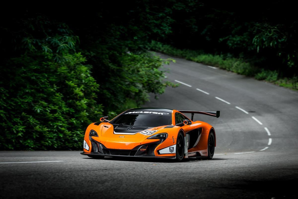 The new McLaren 650s GT3