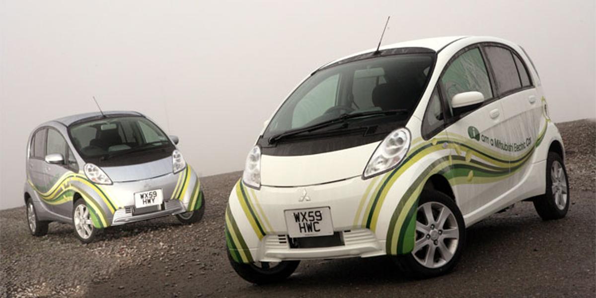 The fast-charging zero-emission Mitsubishi i-MiEV