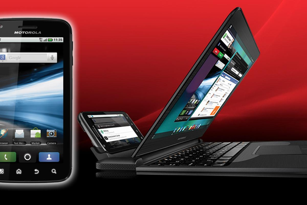 The Motorola ATRIX 4G packs the power of a PC into a smartphone