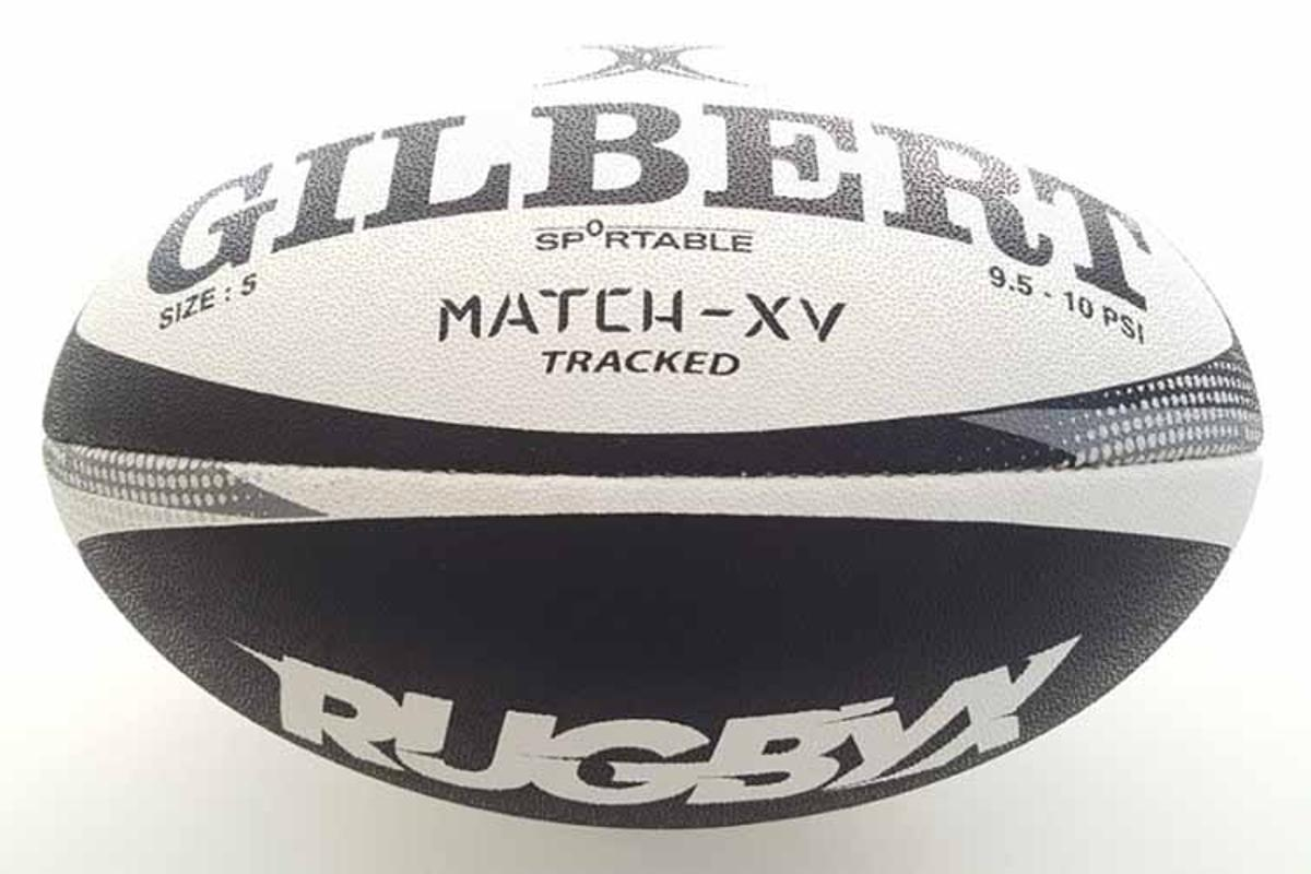 Despite its added electronics, the smart rugby ball is regulation-weight