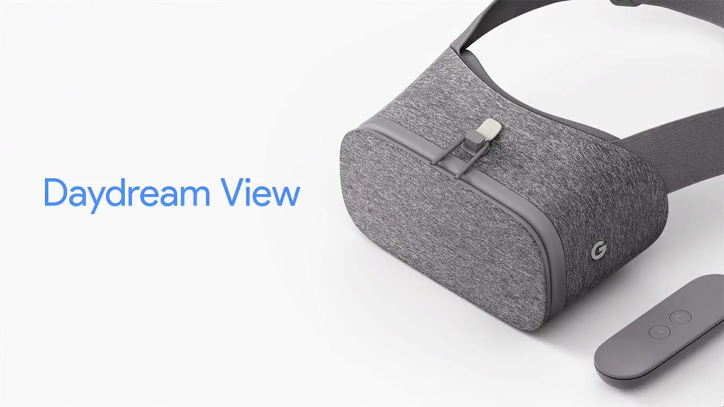The Daydream View is here to compete with Samsung's Gear VR
