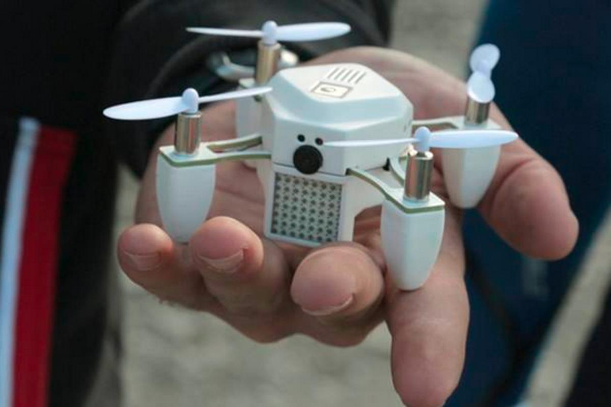 The Zano drone might be palm-sized, but it packs impressive functionality