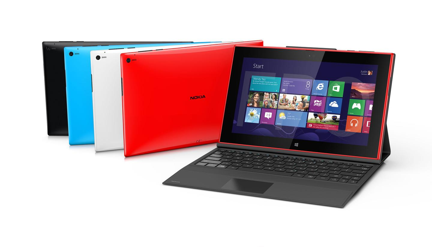 The Lumia 2520 - Nokia's answer to the Surface 2