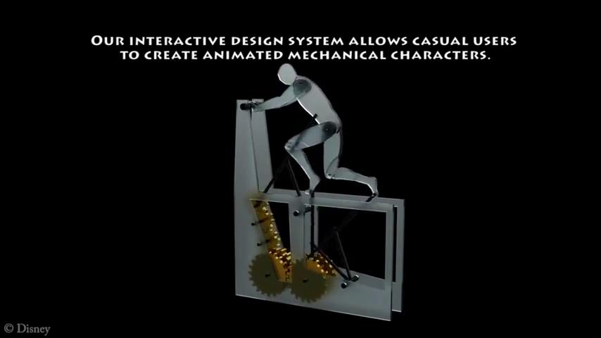 Disney Research Software Makes Mechanizing Characters Easy
