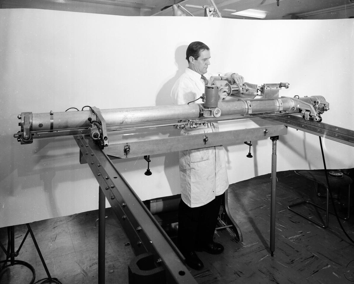 The photos were taken before CERN went digital (Photo: CERN)
