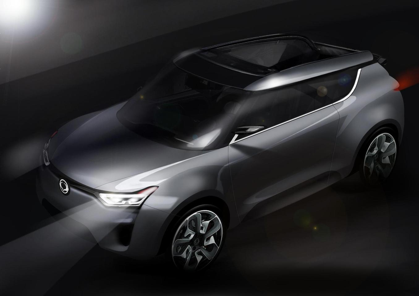 The Ssangyong XIV-2 Concept