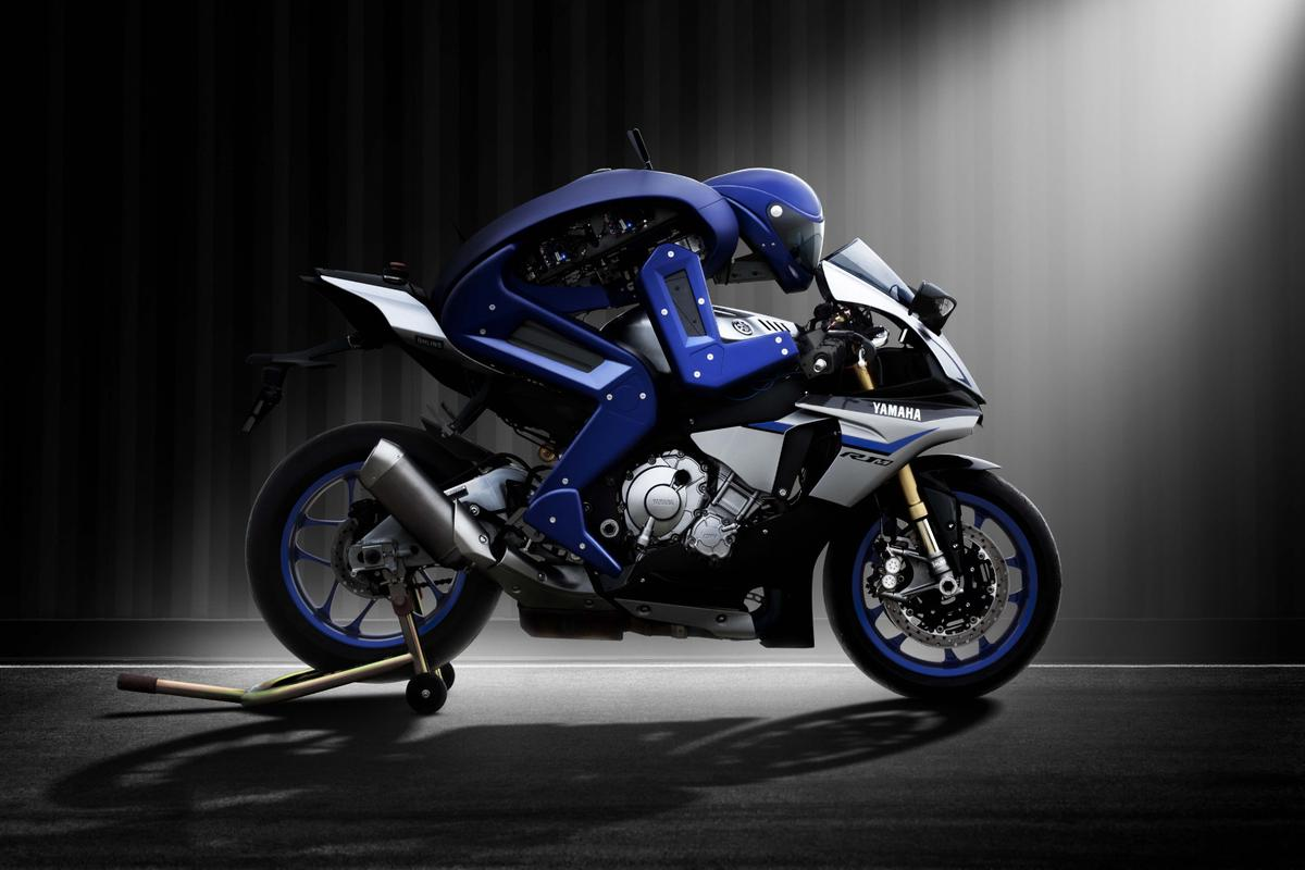 Yamaha's Motobot has proven it can ride a motorcycle on its own, but now the plan is to beat Valentino Rossi's record lap times