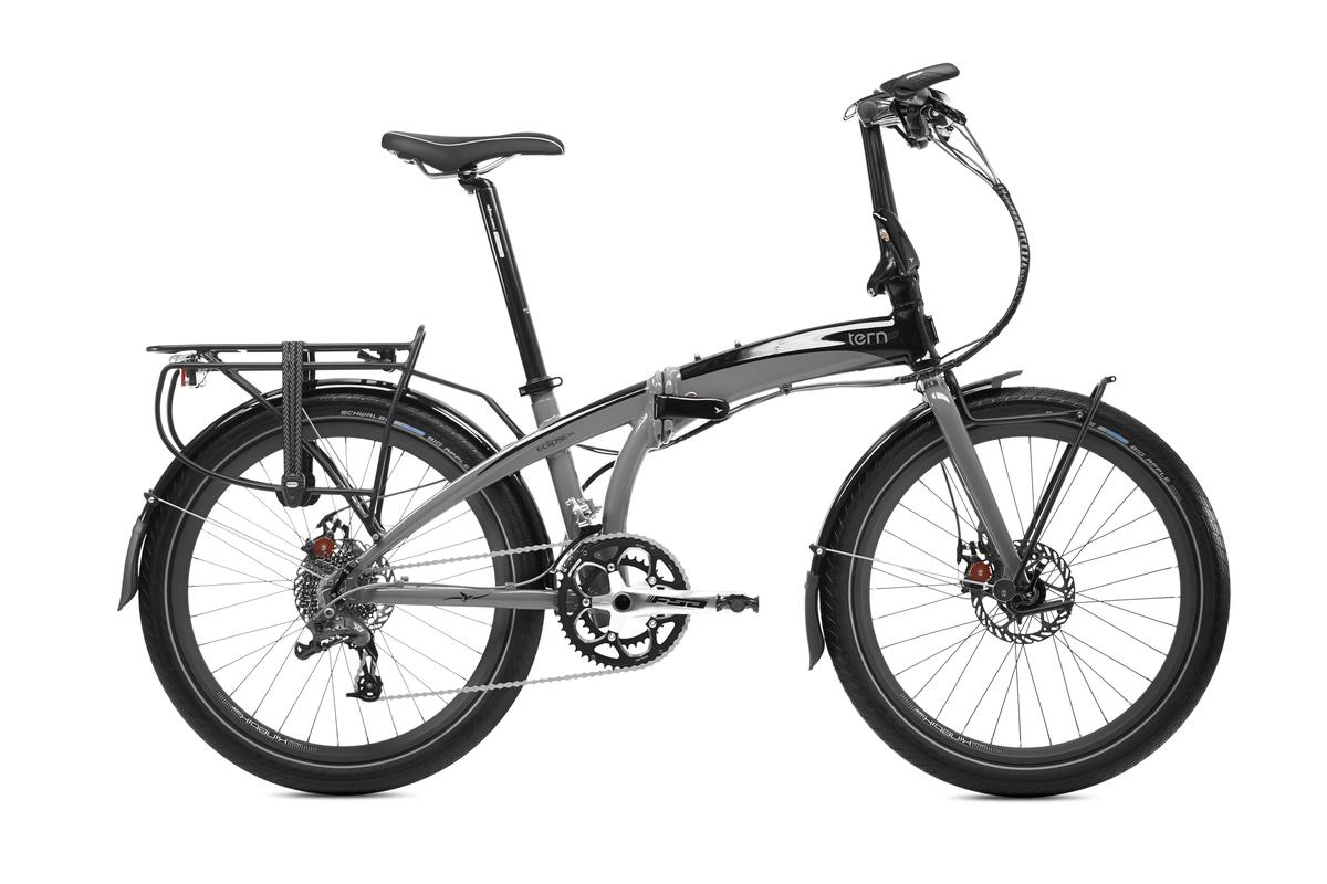 Tern claims that the S18 offers a rigid ride, even for larger riders