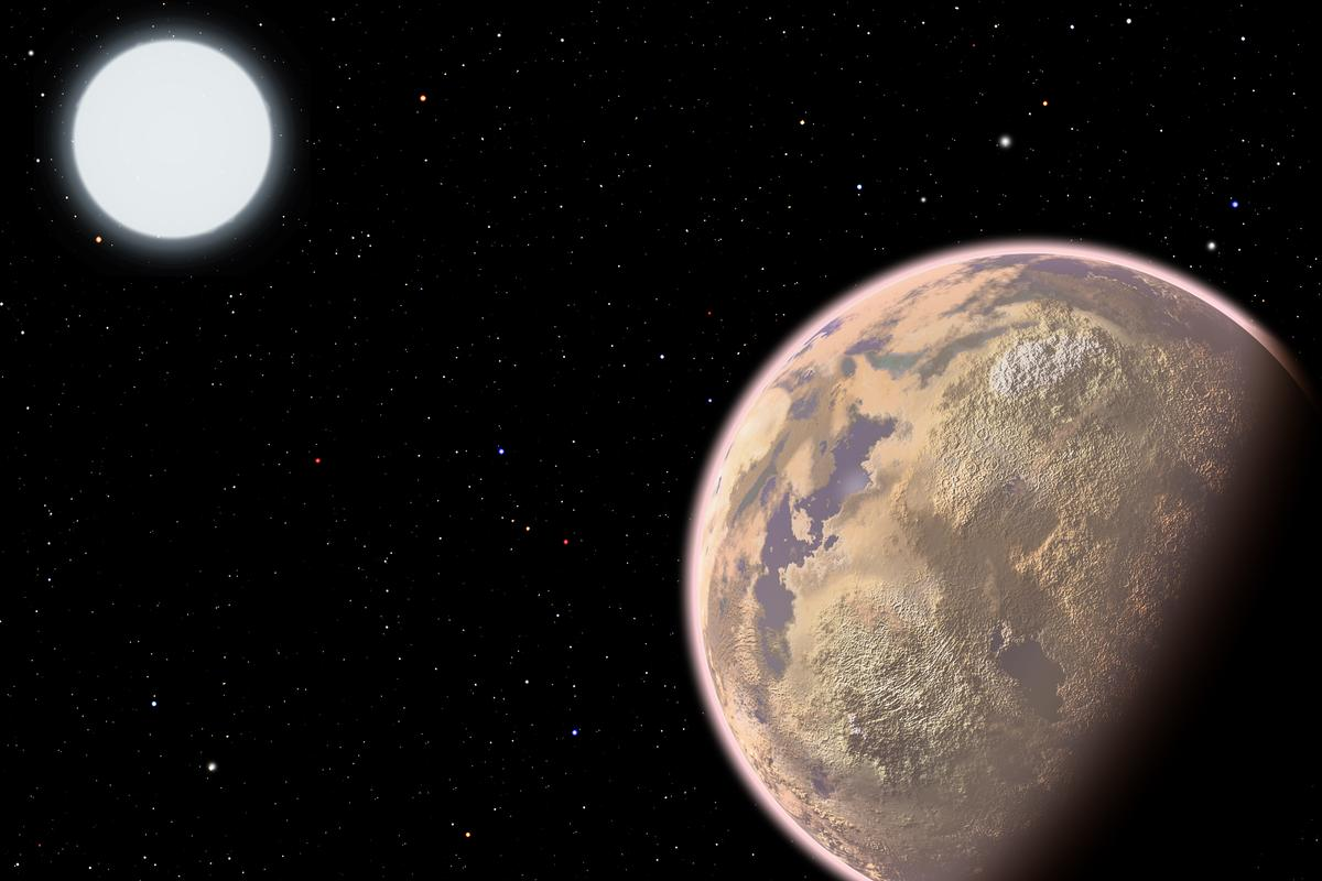Scientists suggest looking for industrial pollution as a new way of searching for extraterrestrial intelligence (Image: Harvard-Smithsonian Center for Astrophysics)