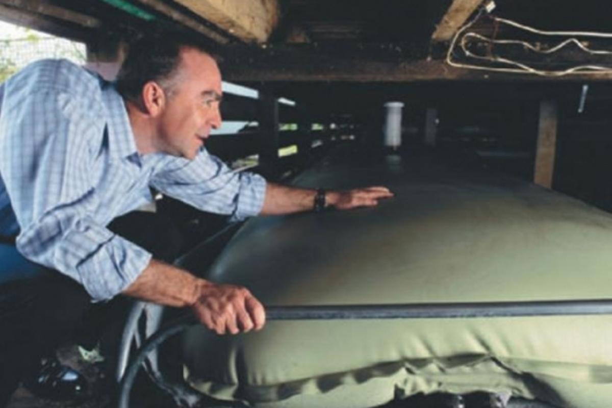 Rain Reviva under-house water storage