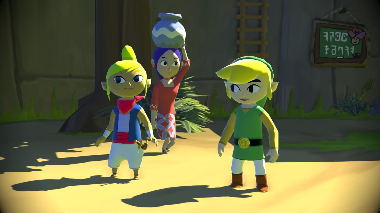 Nintendo will release an HD remastering of 2003's Zelda Wind Waker