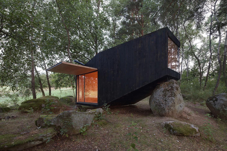 The Forest Retreat, by Czech firm Uhlik Architekti (Photo: Jan Kudej)