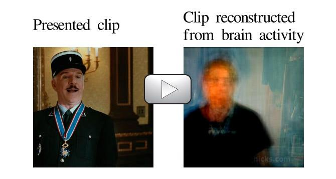 Scientists have created a system that is able to visually reconstruct images that people have seen, by reading their brain activity