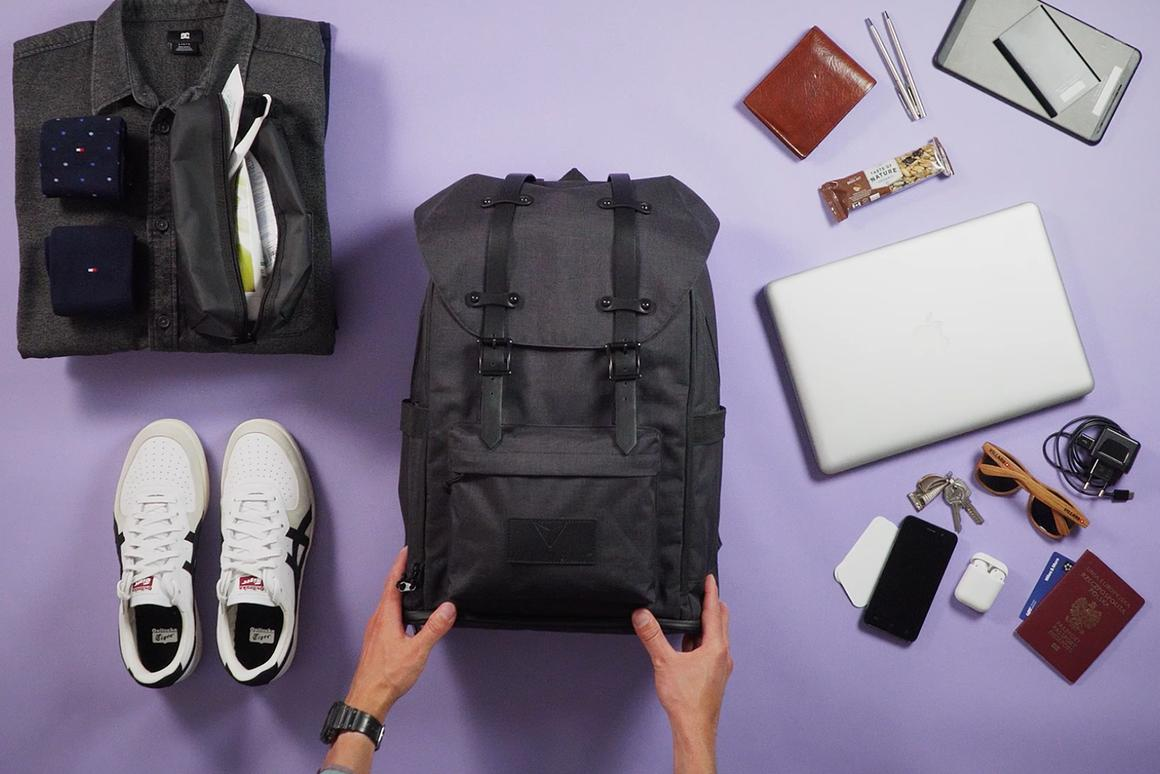 The Smart-Pack keeps your work stuff separate from your