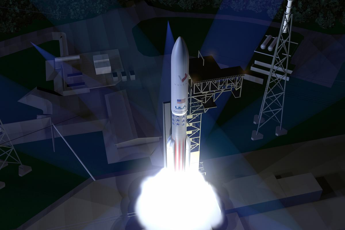 The Vulcan rocket will use a reusable booster engine configuration
