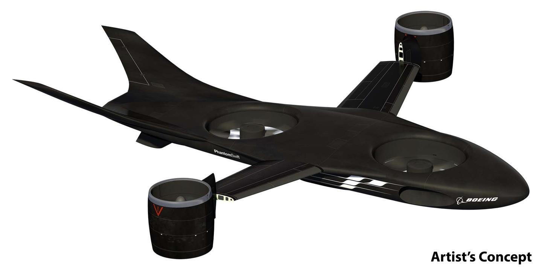 The Boeing Phantom Swift design