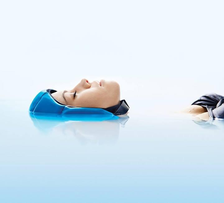 Float allows an individual to be immersed almost fully in water
